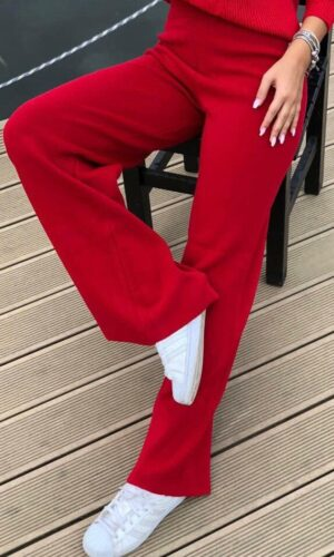 Red Bell Pants