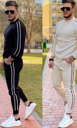 Trening bărbați tricot Stripe