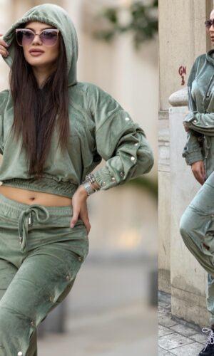 Velvet Staple Kisa Suit