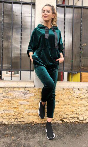Satin Fairy Suit / Green