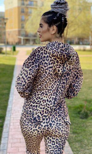 Trening leopard catifea Kisa