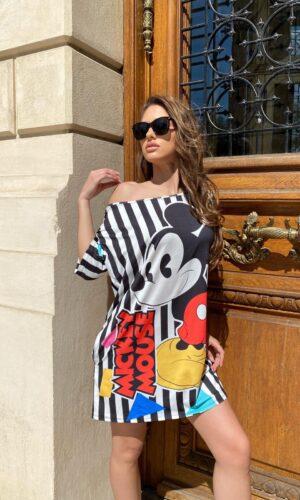 Rochie-tricou dreapta Mickey Mouse