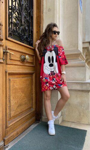 Rochie-tricou dreapta AX Mickey