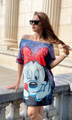 Rochie-tricou dreapta Minnie Fairy