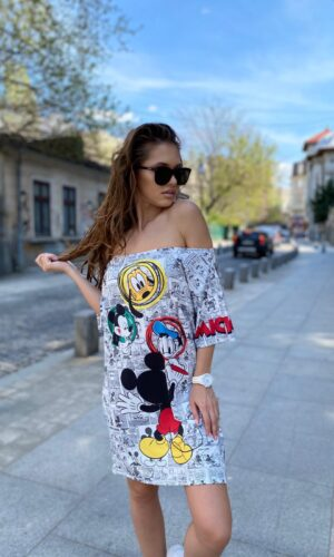 Rochie-tricou dreapta Disney World